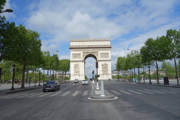 Arc de triomphe Paris 8