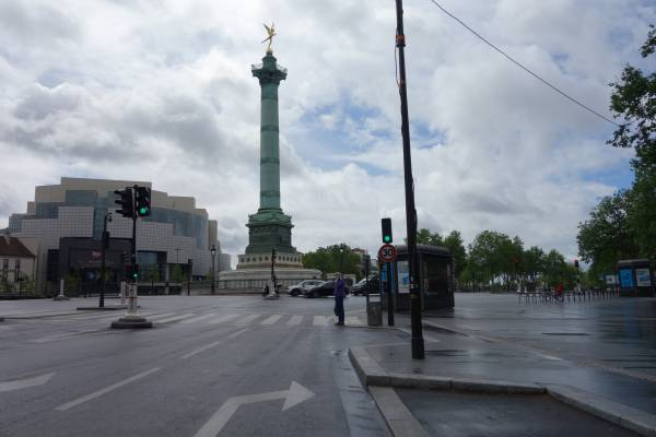 Place de la Bastille Paris 11